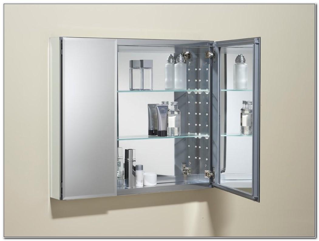 Recessed Medicine Cabinet Mirror Bathroom
