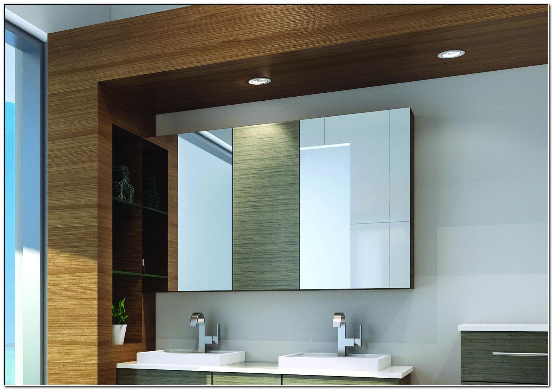 Recessed Mirrored Bathroom Cabinets Australia