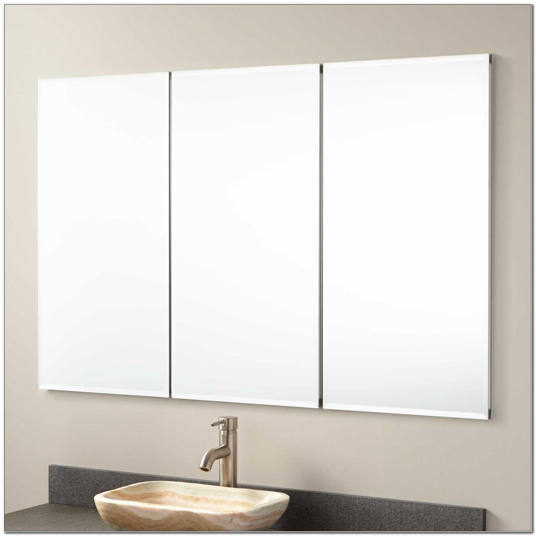 Recessed Mirrored Bathroom Medicine Cabinets