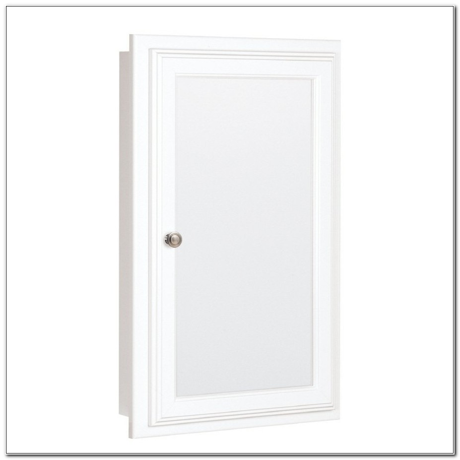 Recessed Mirrored Medicine Cabinet Canada