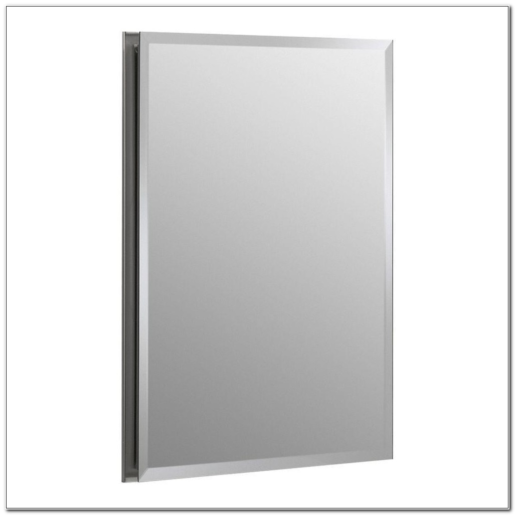 Recessed Mirrored Medicine Cabinet Home Depot