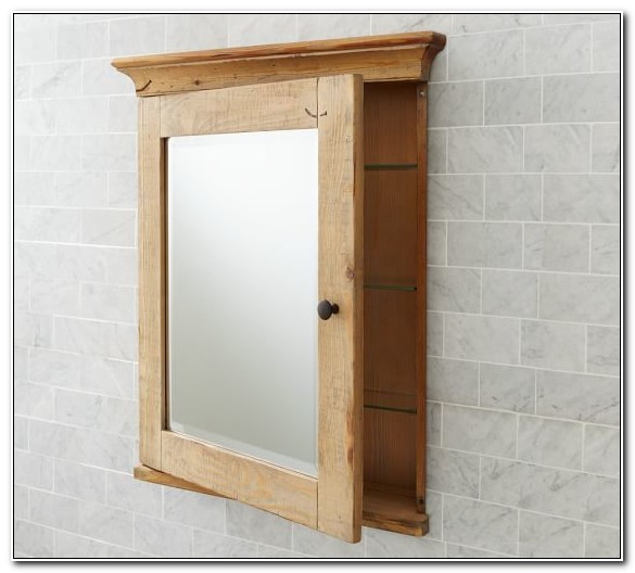 Recessed Solid Wood Medicine Cabinets