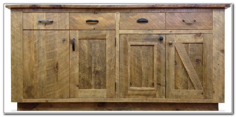 Reclaimed Wood Cabinet Doors
