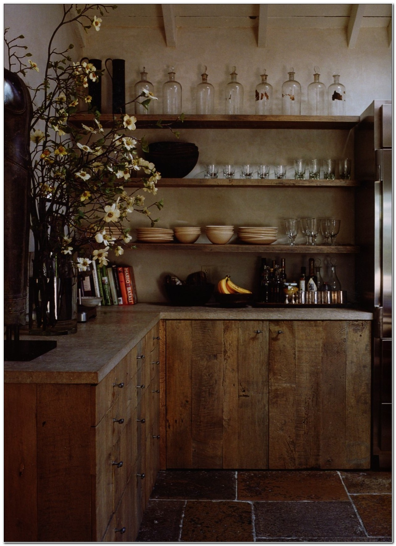 Reclaimed Wood Kitchen Cabinets Ontario