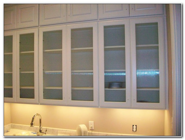 Reeded Glass For Cabinet Doors