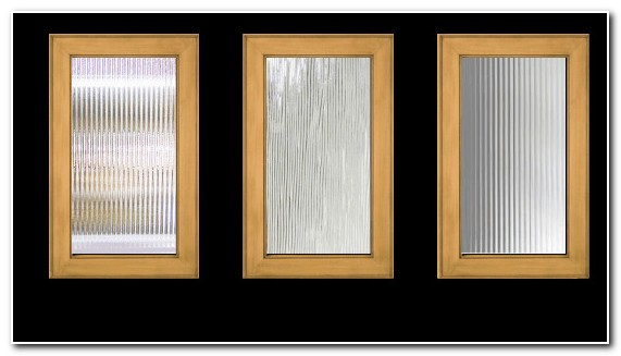 Reeded Glass Inserts For Kitchen Cabinets