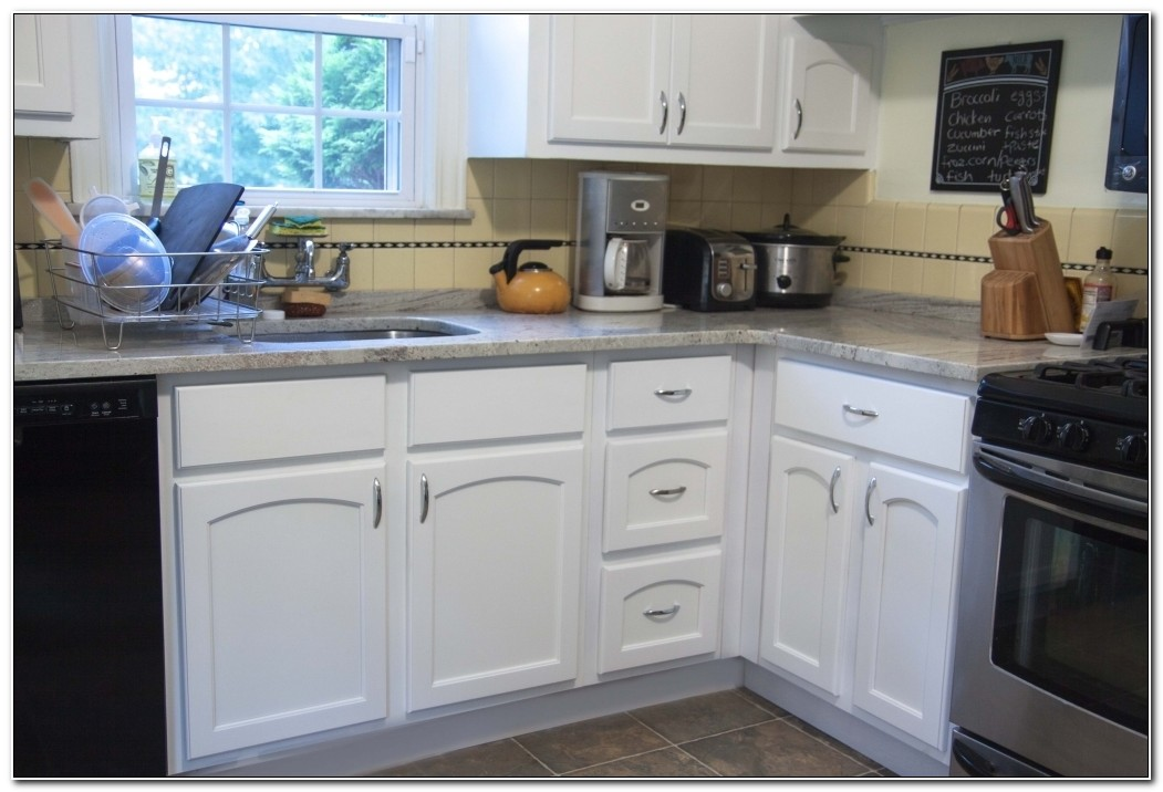 Refacing Thermofoil Kitchen Cabinets