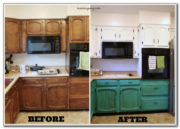 Refinishing Cabinets With Chalk Paint