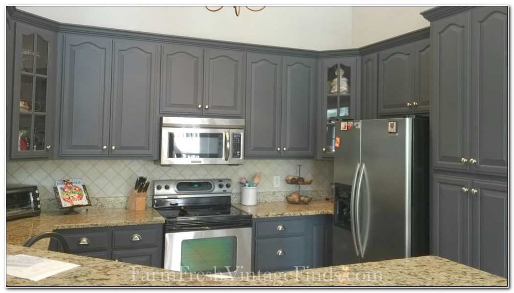 Refinishing Cabinets With Milk Paint