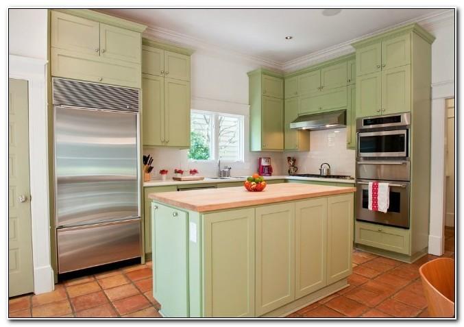 Refinishing Old Laminate Kitchen Cabinets