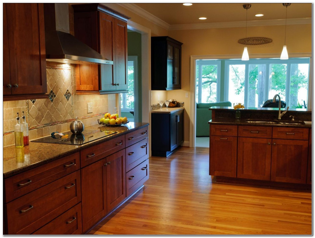 Refinishing Wood Stained Kitchen Cabinets
