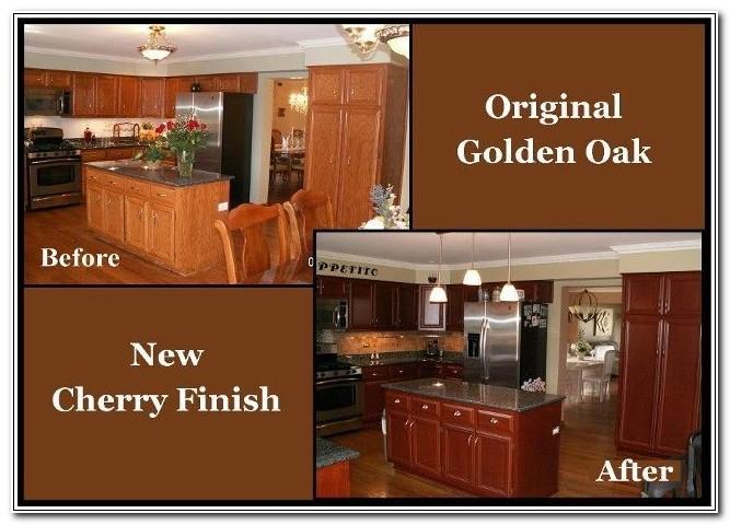 Refinishing Wooden Kitchen Cupboards