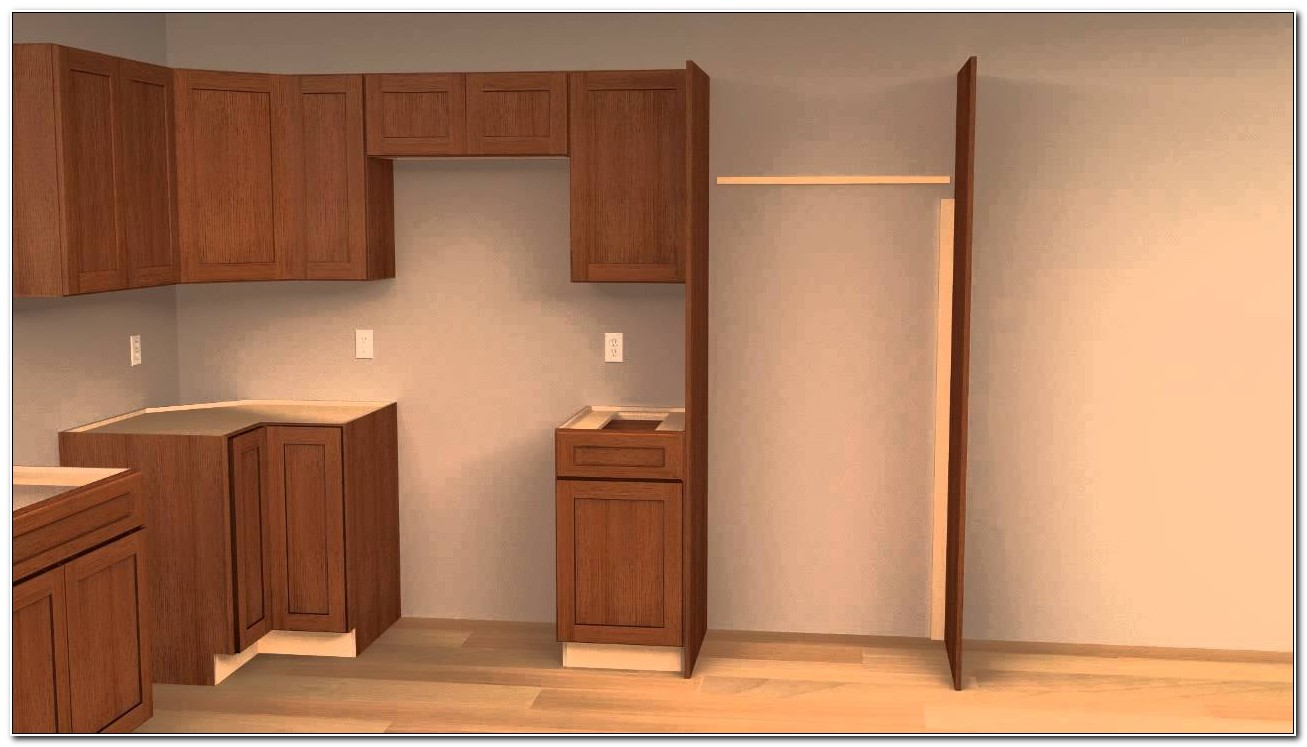 Refrigerator Cabinet Side Panels