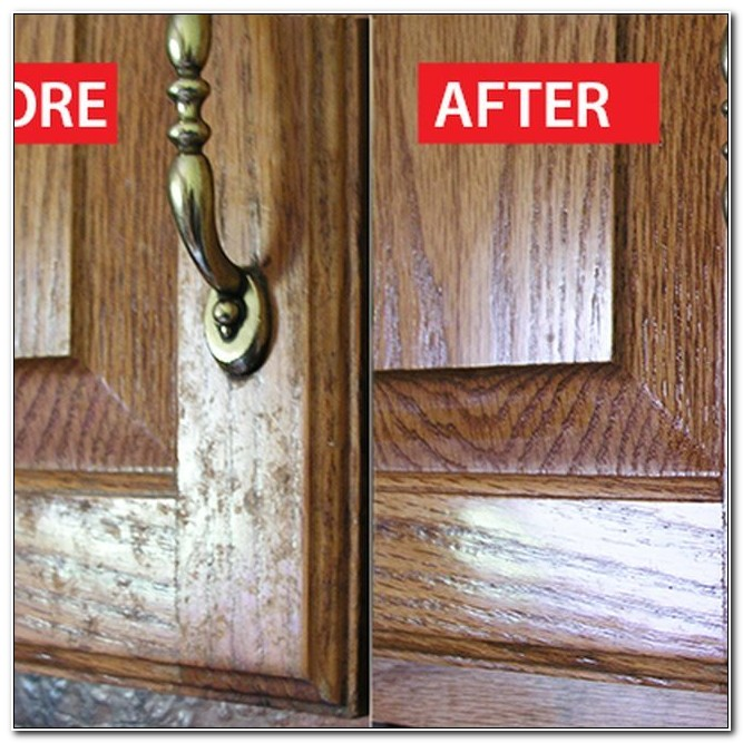 Remove Grease From Kitchen Cabinet Doors