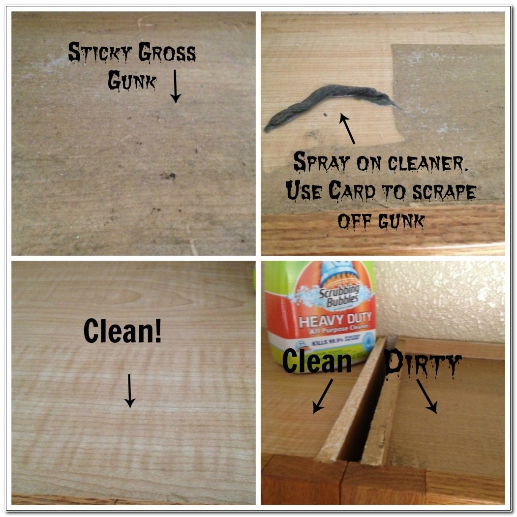 Remove Sticky Grease From Cabinets