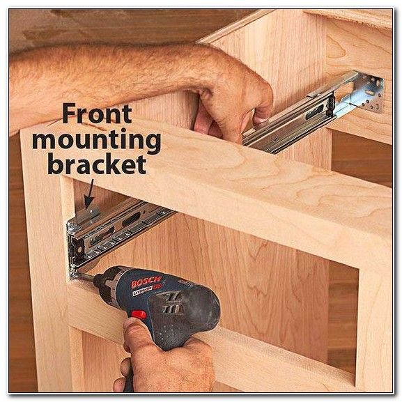 Replace Kitchen Cabinet Drawer Slides
