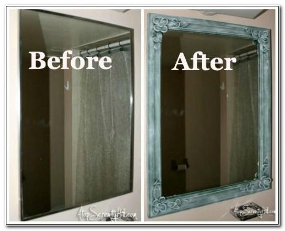 Replace Old Medicine Cabinet Mirror