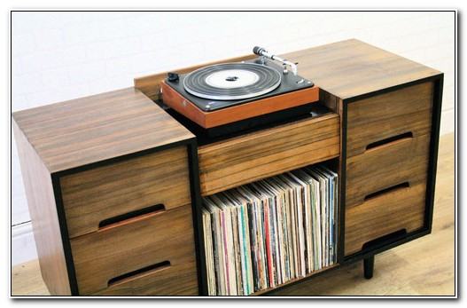 Retro Hi Fi Cabinet
