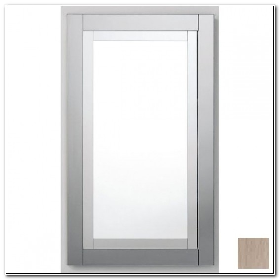Robern Brushed Nickel Metallique Medicine Cabinet