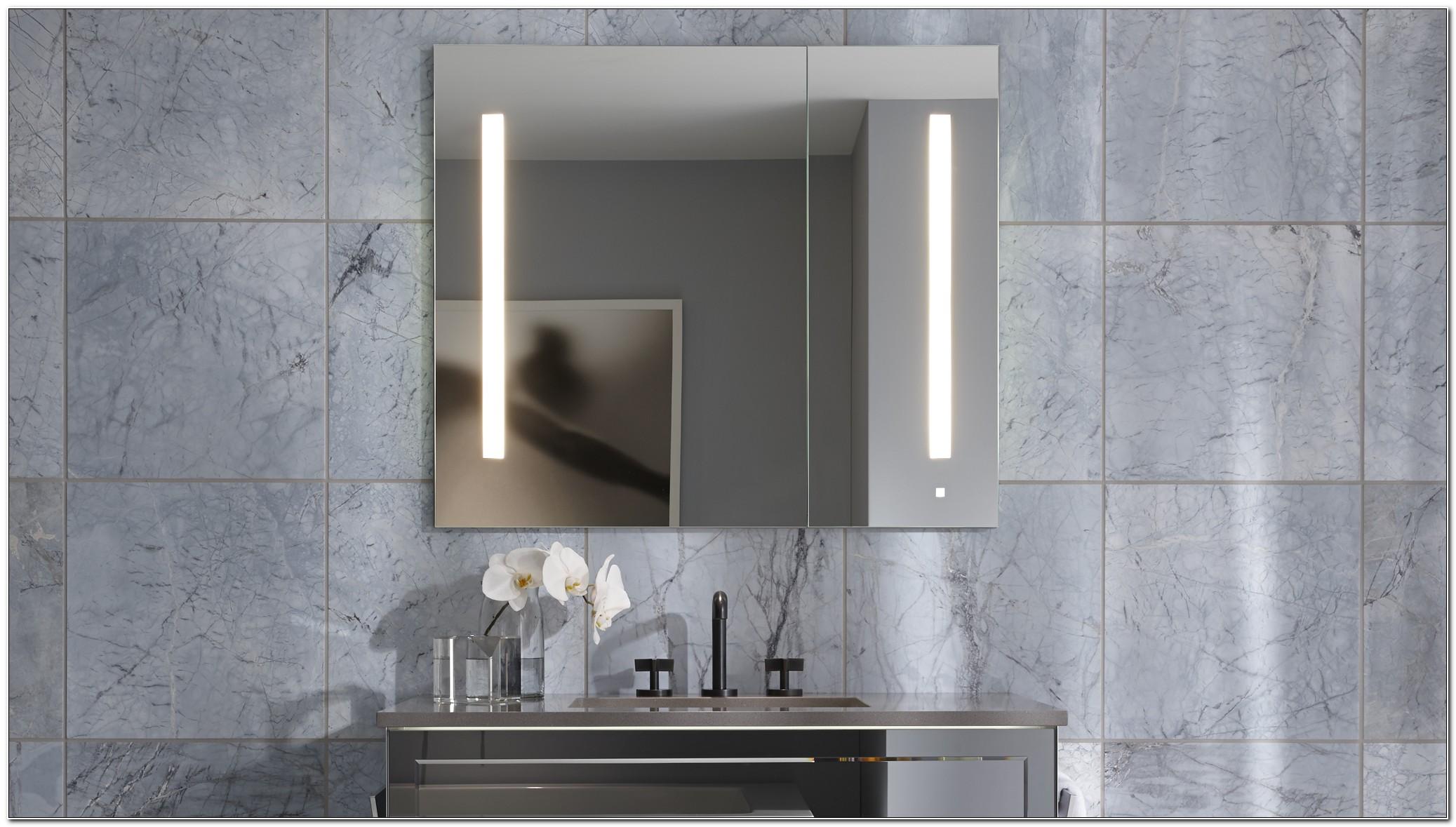 Robern Flat Mirrored Medicine Cabinet