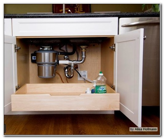 Roll Out Under Cabinet Drawers