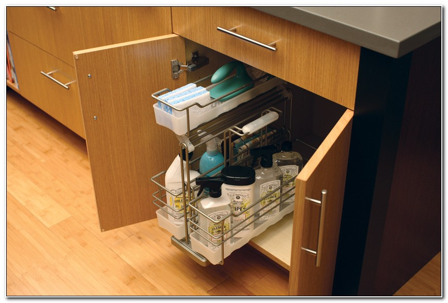 Roll Out Under Sink Storage