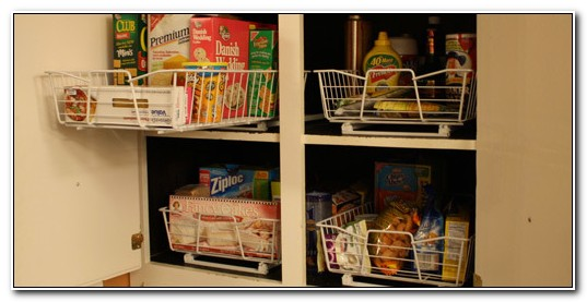 Roll Out Wire Shelves For Kitchen Cabinets