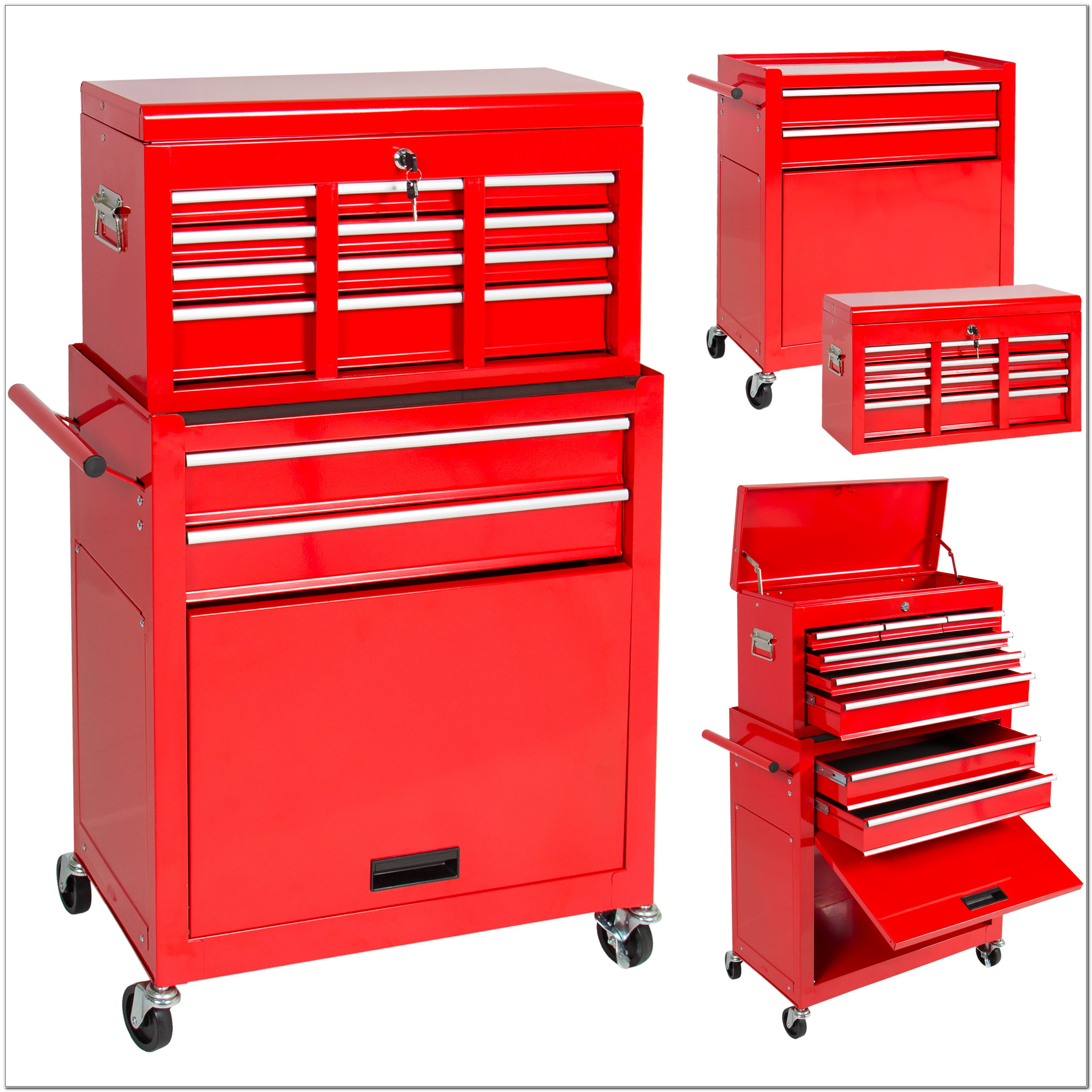 Rolling Tool Chest Storage Cabinet
