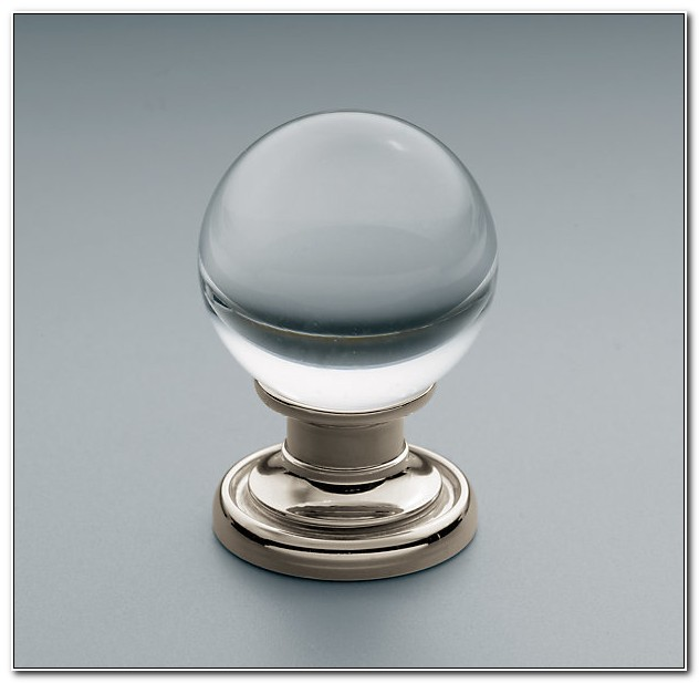 Round Glass Knobs For Cabinets