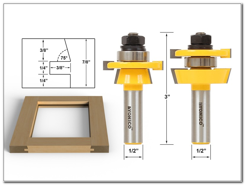 Router Bits For Shaker Cabinet Doors