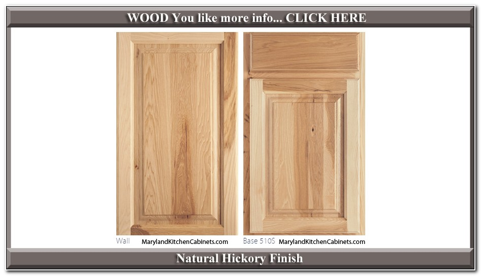 Rta Natural Hickory Kitchen Cabinets