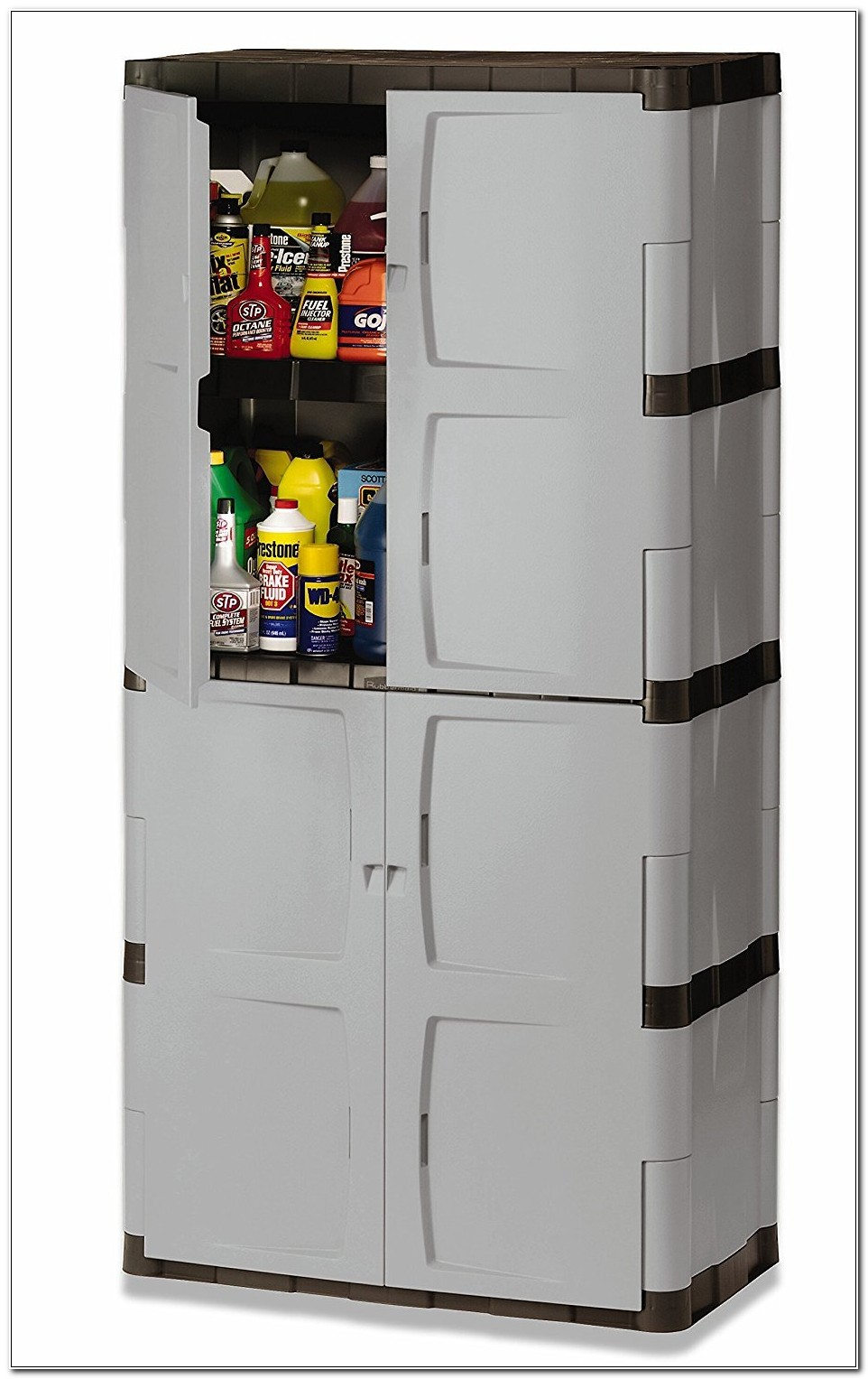 Rubbermaid Full Double Door Cabinet 7083