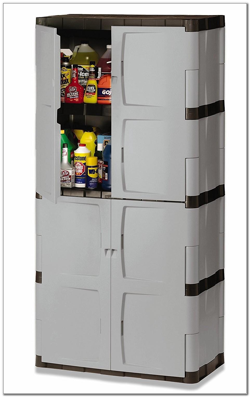 Rubbermaid Full Double Door Cabinet 7083