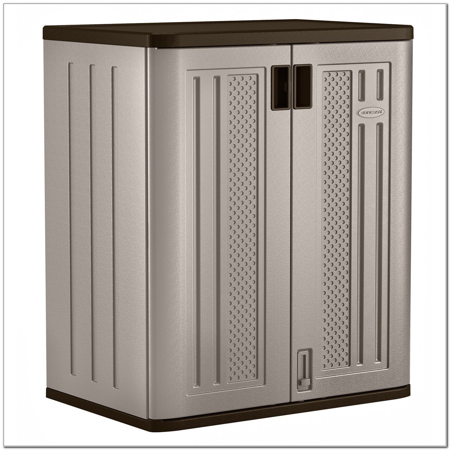 Rubbermaid Outdoor Corner Storage Cabinet