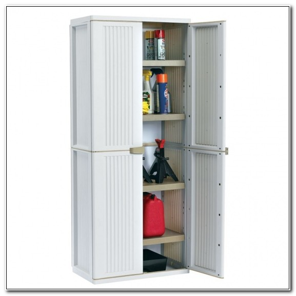 Rubbermaid Plastic Storage Cabinets For Garage