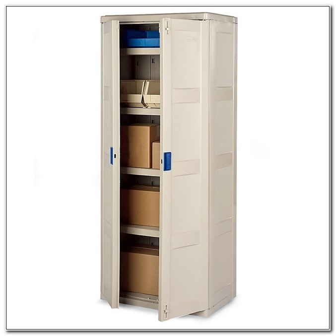 Rubbermaid Plastic Storage Cabinets With Doors