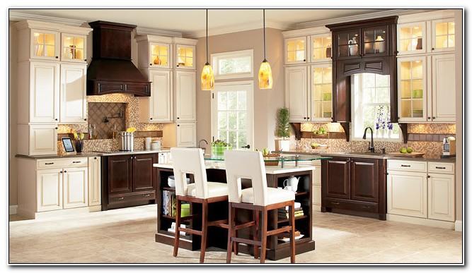 Rushmore Maple Hazelnut Glaze Cabinets