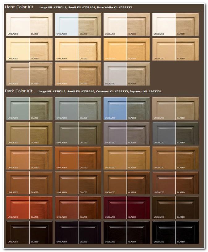 Rust Oleum Transformations Cabinet