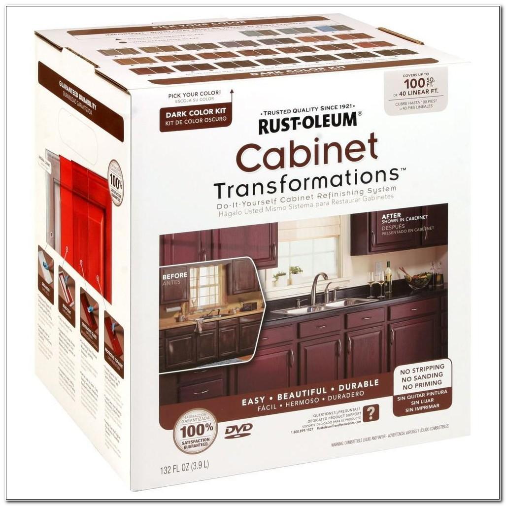 Rustoleum Cabinet Transformations Dark Base Refinishing Kit
