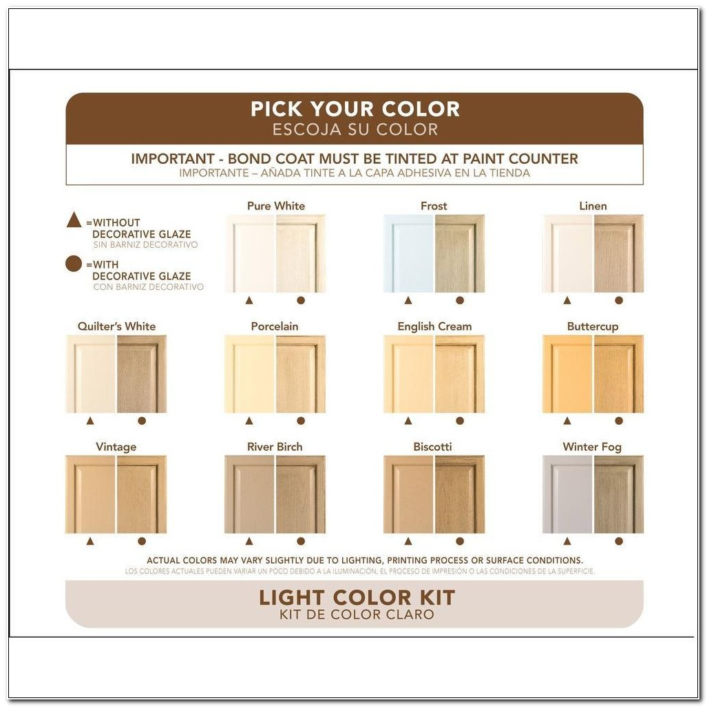 Rustoleum Cabinet Transformations Light Base Refinishing Kit