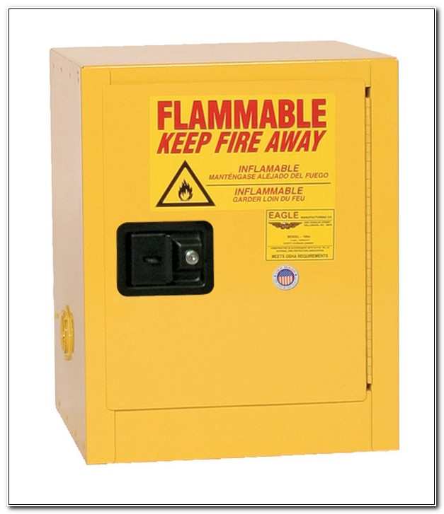 Safety Storage Cabinet For Flammable Liquids