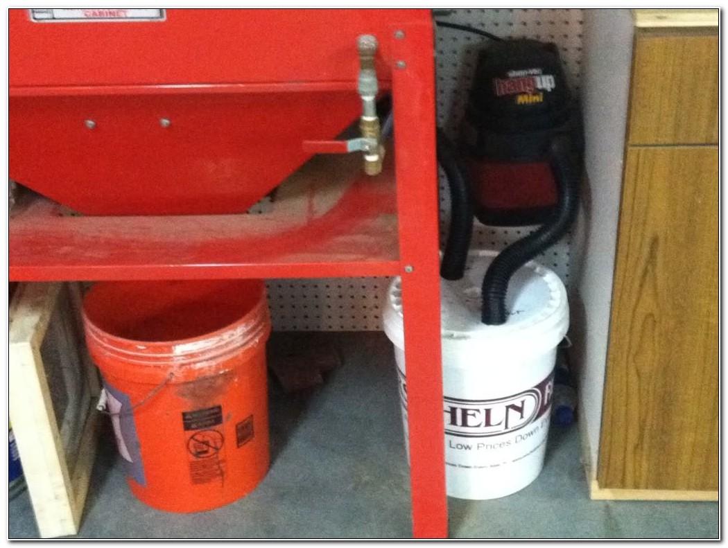Sandblast Cabinet Dust Collector