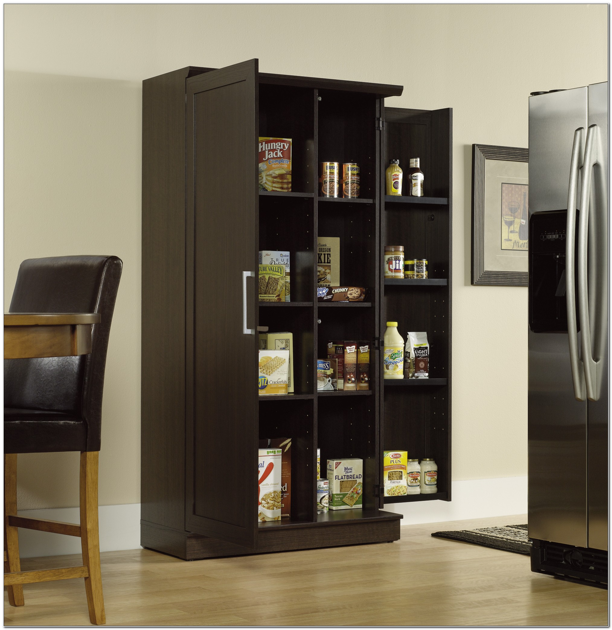 Sauder Homeplus Storage Cabinet Black
