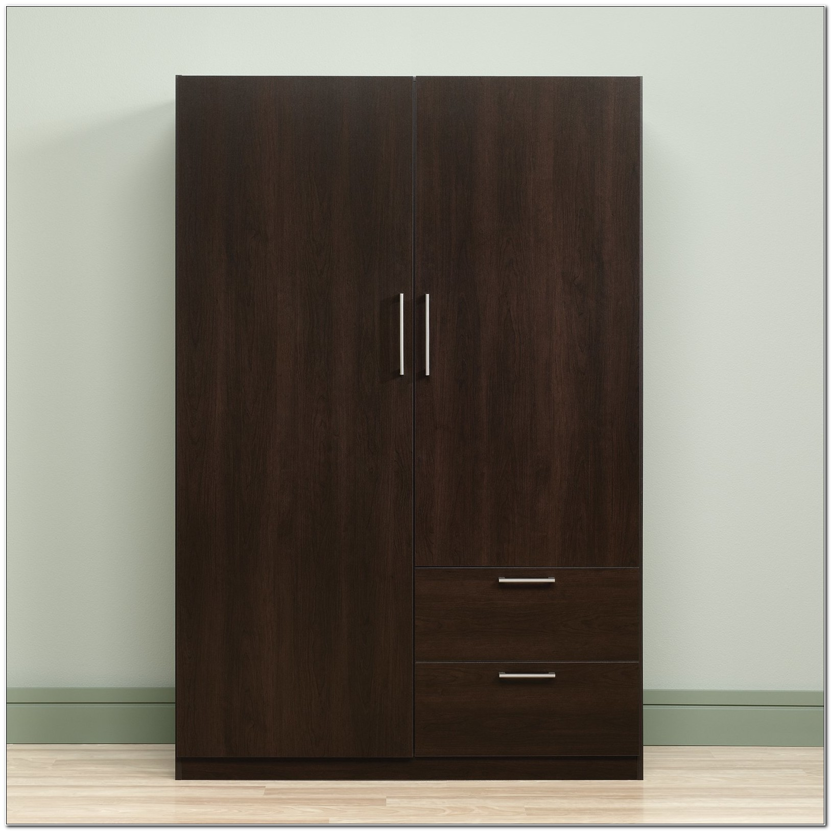 Sauder Storage Cabinet With Drawer Cinnamon Cherry