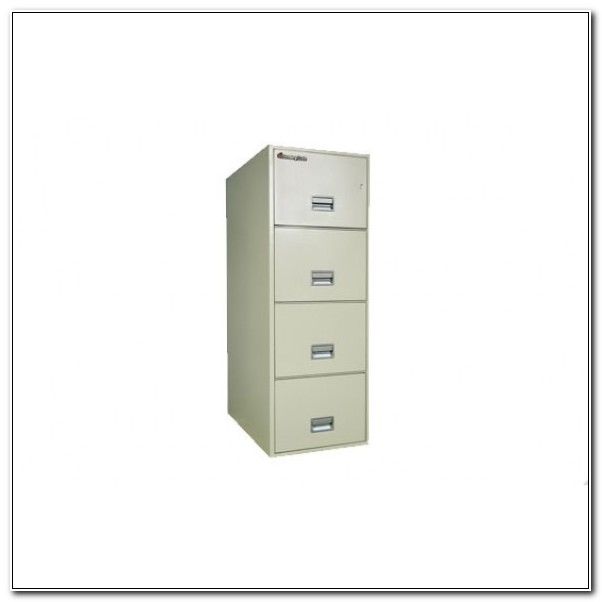 Schwab 4 Drawer Fireproof File Cabinet
