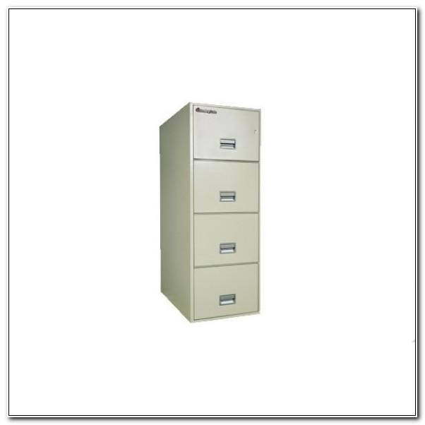 Schwab 4 Drawer Fireproof File Cabinet