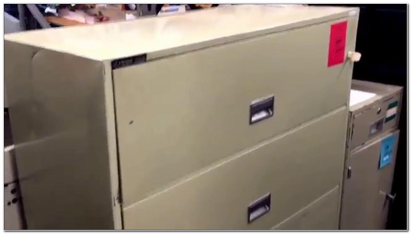 Schwab 5000 Fireproof File Cabinet Used