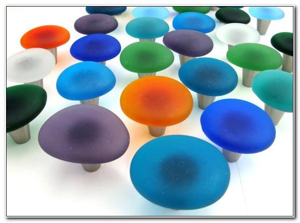 Sea Glass Drawer Knobs