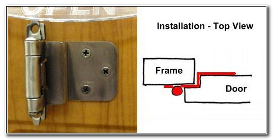 Self Closing Cabinet Hinge Installation
