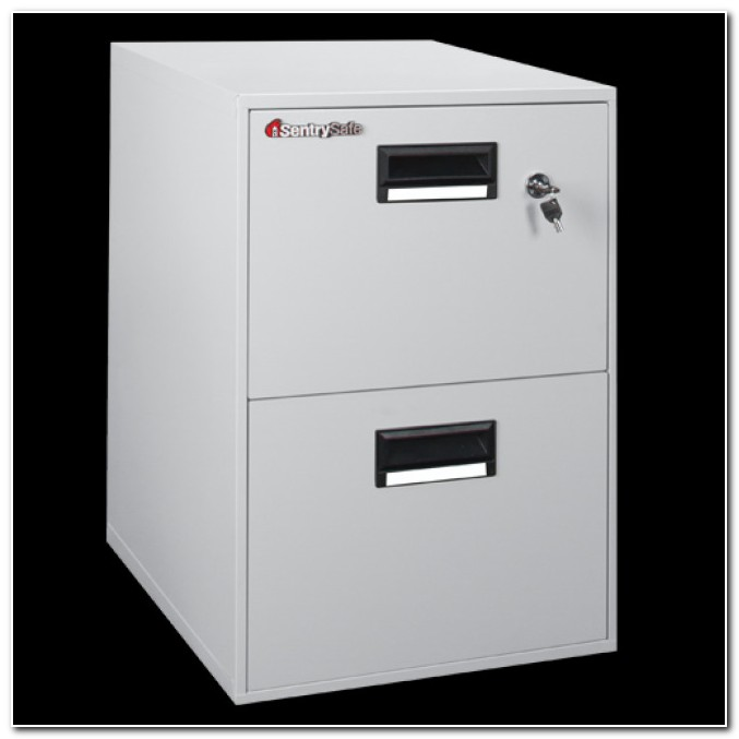 Sentry 2 Drawer Fireproof File Cabinet